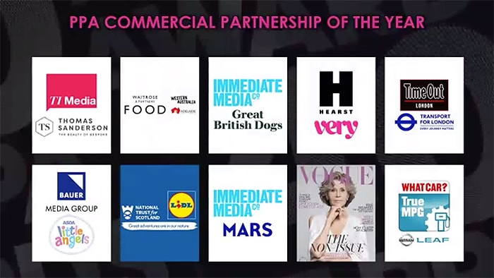 Commercial Partnership of the Year Shortlist