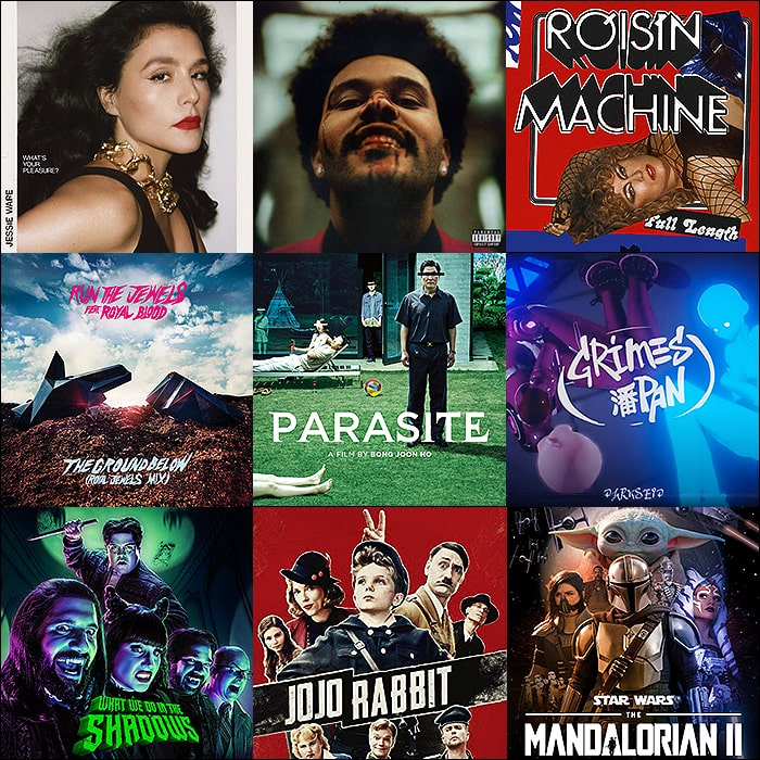 Best of 2020 Entertainment - Favourite Albums, Songs, Movies and TV Shows