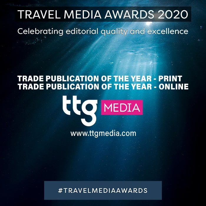 TTG Deservedly Takes Dual Honours at the 2020 Travel Media Awards - Both Print and Online Trade Publication of the Year