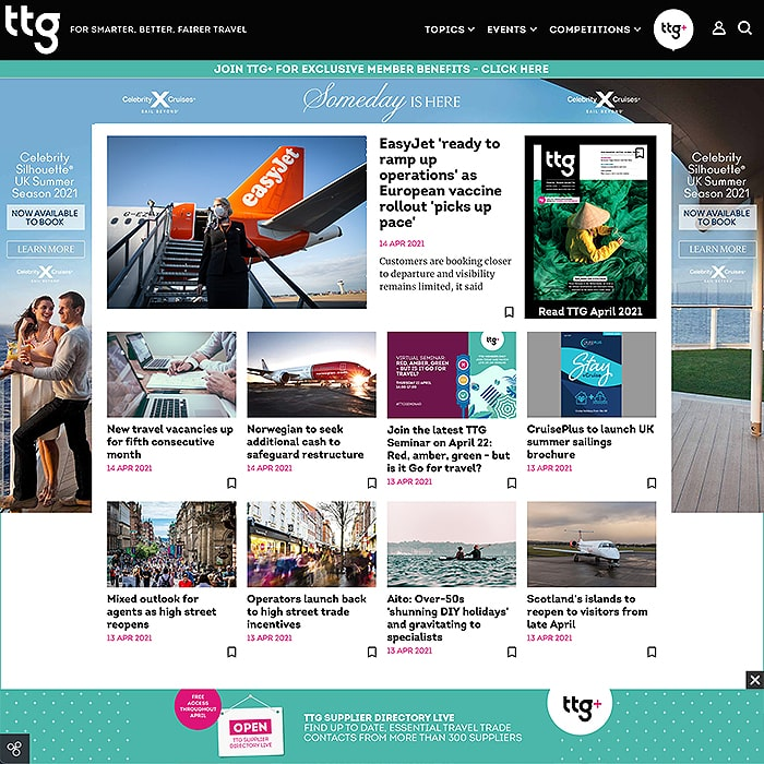 TTG Media Website Visual Guide