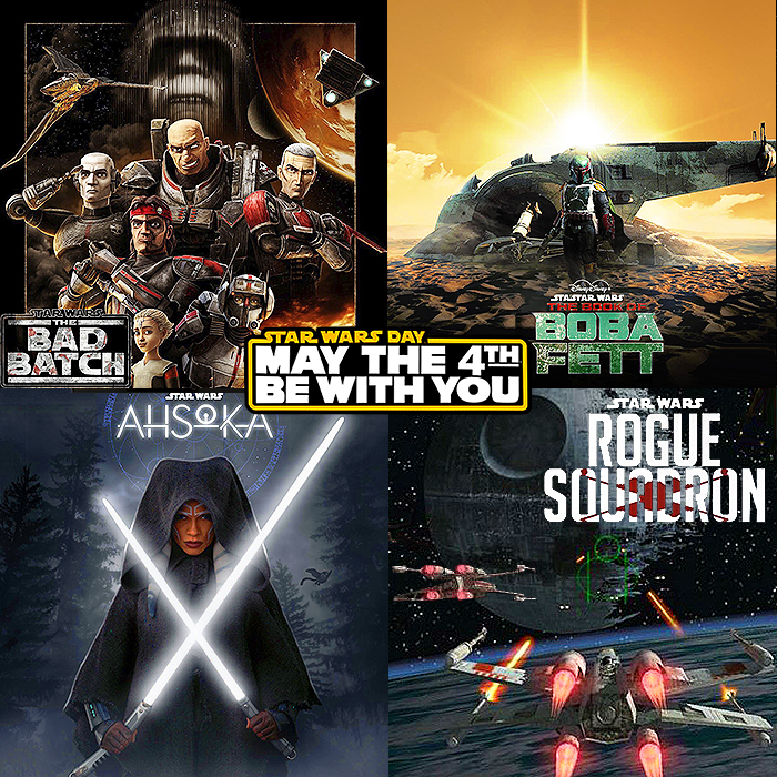 May The Fourth Be With You! Looking forward to a Year or two in Star Wars Audiovisual Entertainment