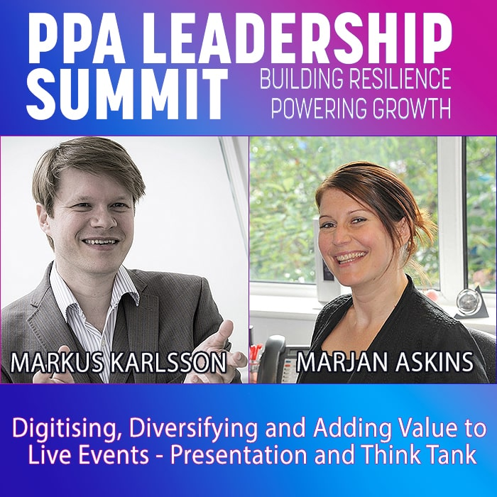 2021 PPA Summit Live Events Think Tank