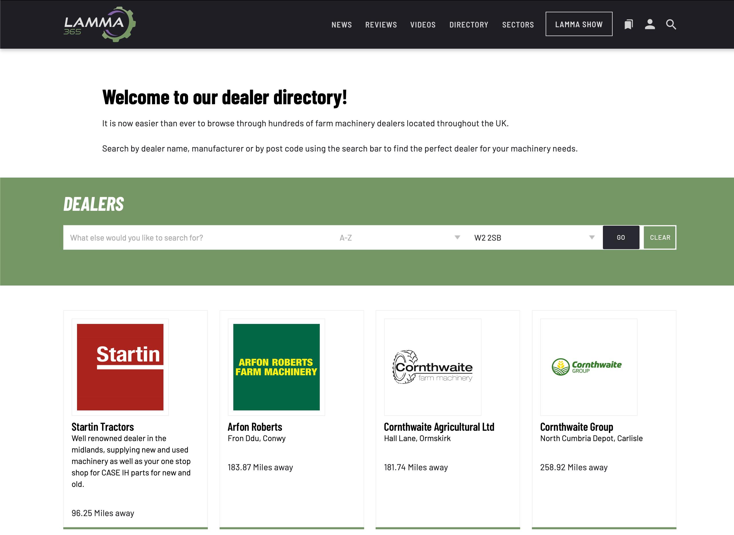 Lamma Dealer Directory